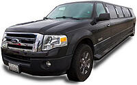 Black Ford Expedition Limo