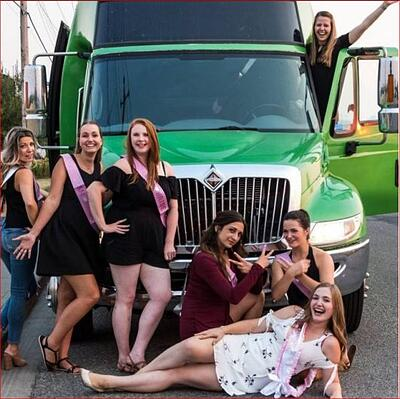 Calgary Party Bus Rental