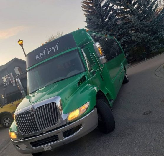 Lacombe and Blackfalds Best Party Bus Rentals