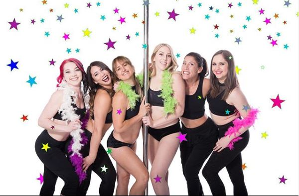 Aradia Fitness ladies pole dancing