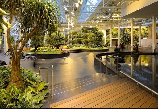 Newly renovated Devonian Gardens