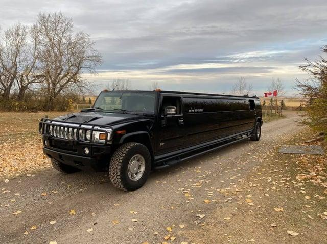 Black Hummer Stretch Limousine