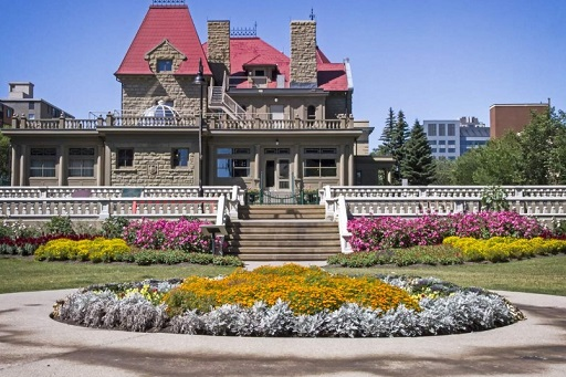 Lougheed House front view