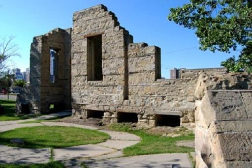Rundle Ruins in Calgary