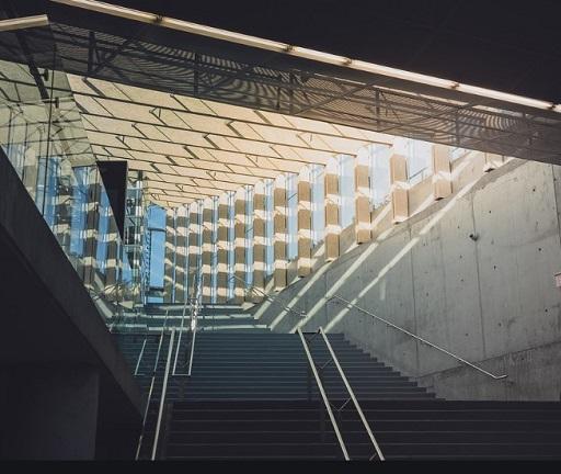 The Best VtosArchitectural wonder, the inside of the SAIT Parkade.