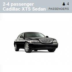 Cadillac XTS Sedan (2-4 Passengers)
