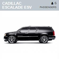 Cadillac Escalade ESV (6 Passengers)