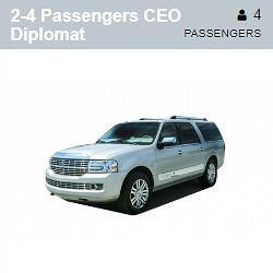 CEO Diplomat (2-4 Passengers)
