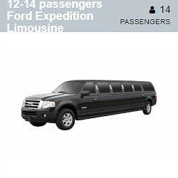 Ford Expedition Limousine (12-14 Passengers)