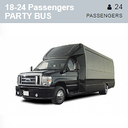 Ford E450 Party Bus (18-24 Passengers)