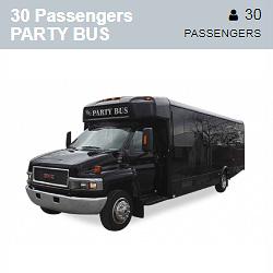 GMC Party Bus (30 Passengers)