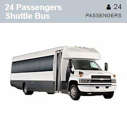 GMC 5500 Shuttle Bus (24 Passengers)