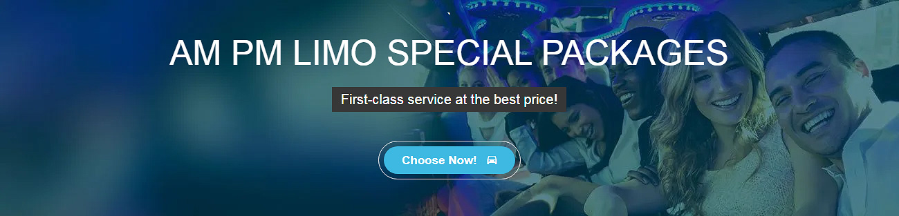 AMPM LIMO Special Packages