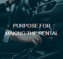 Purpose for Rental