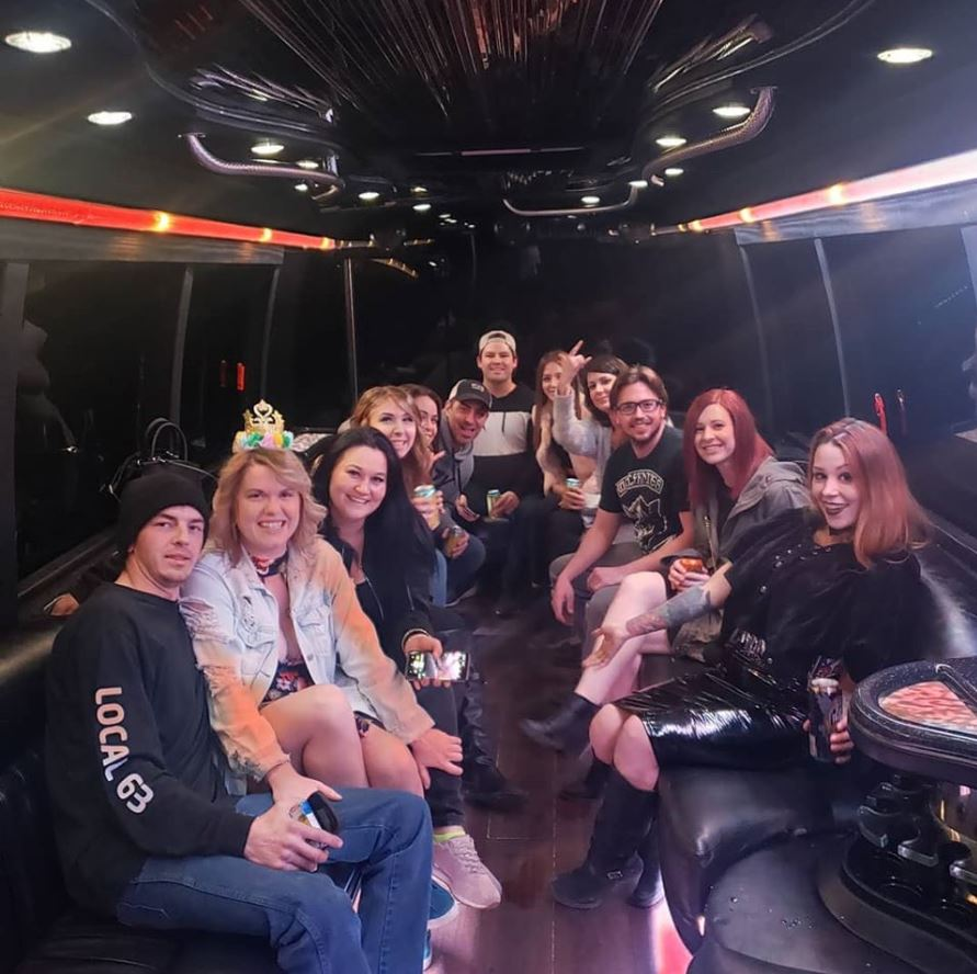 Party Bus Rentals for Crossfield Carstairs Olds and Sundre